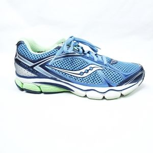 Saucony Echelon 3 Blue Green Running Shoes Sz. 8.5